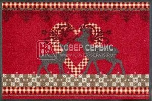Коврик для дома wash+dry Lovely Deers 60x180