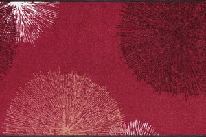 Коврик для дома wash+dry Firework red 75x120