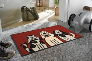 Коврик для дома wash+dry ® Three Dogs 50x75